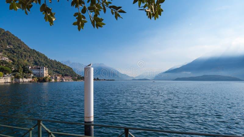 Lac Como en Italie images stock