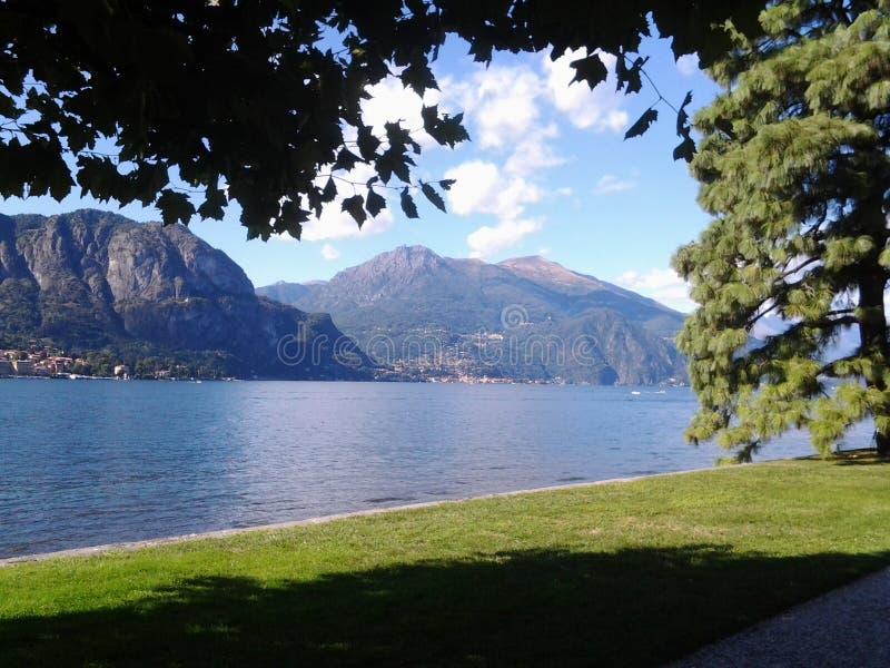 Lac Como en Italie photo stock
