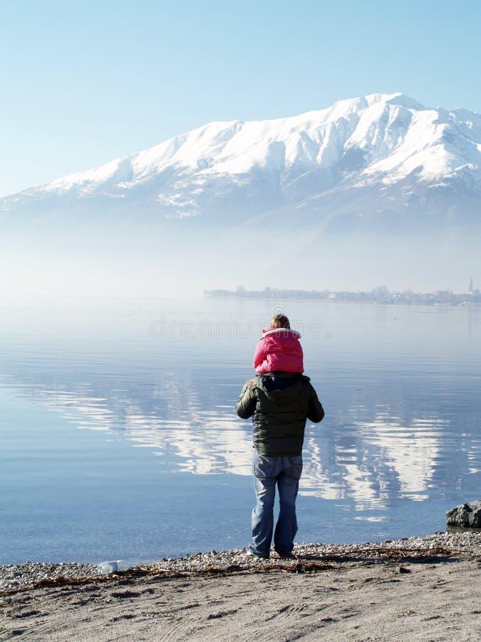 Lac Como - Italie image libre de droits