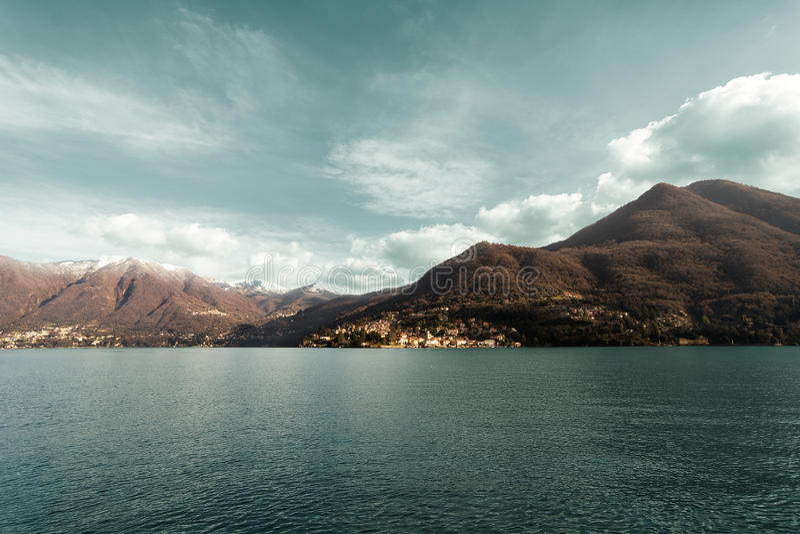Lac Como Italie Lombardia photographie stock libre de droits