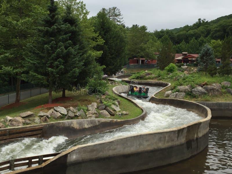 Lac Compounce dans Bristol, le Connecticut photos libres de droits