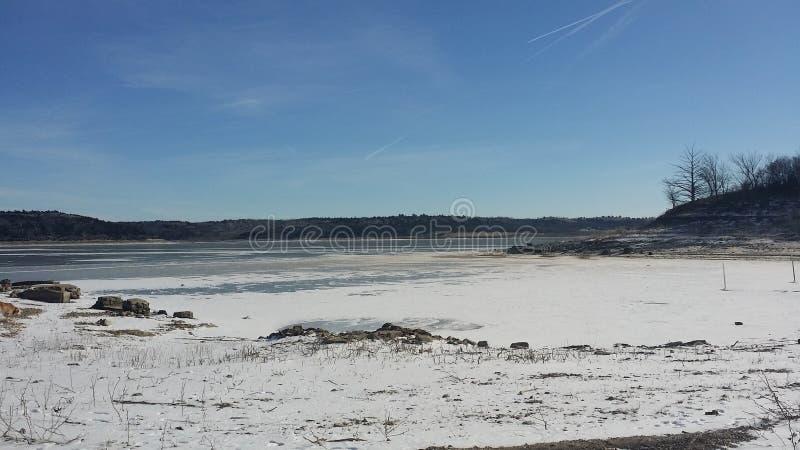Lac congelé Tuttle image stock