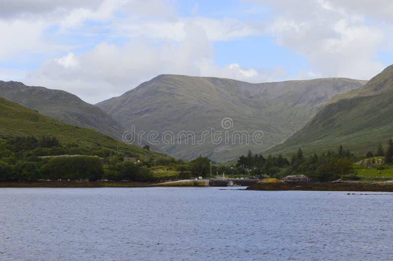 Lac Connemara image libre de droits