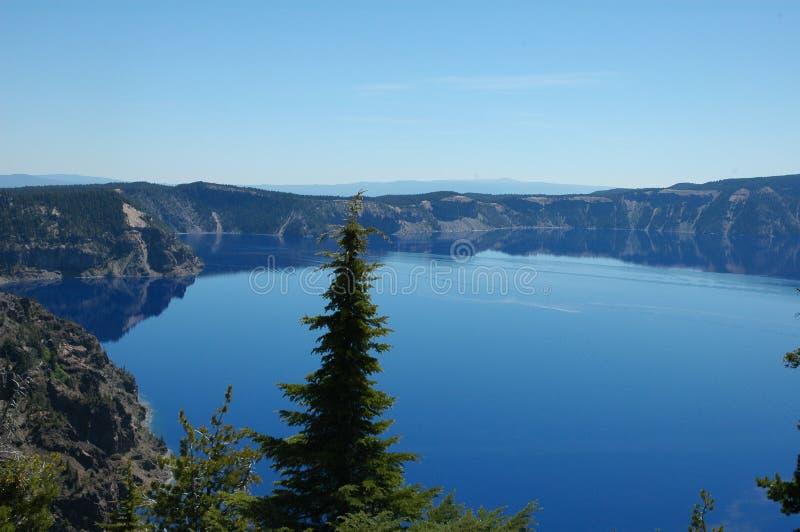 Lac crater, Orégon image libre de droits