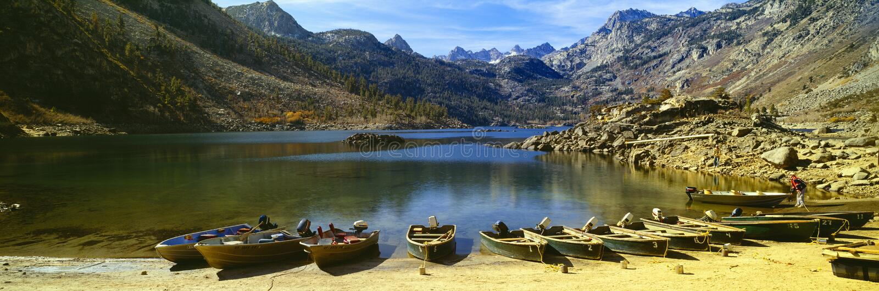 Lac Crowley, photo stock
