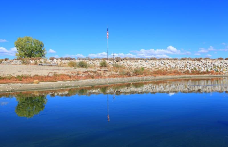 Lac Crowley image stock