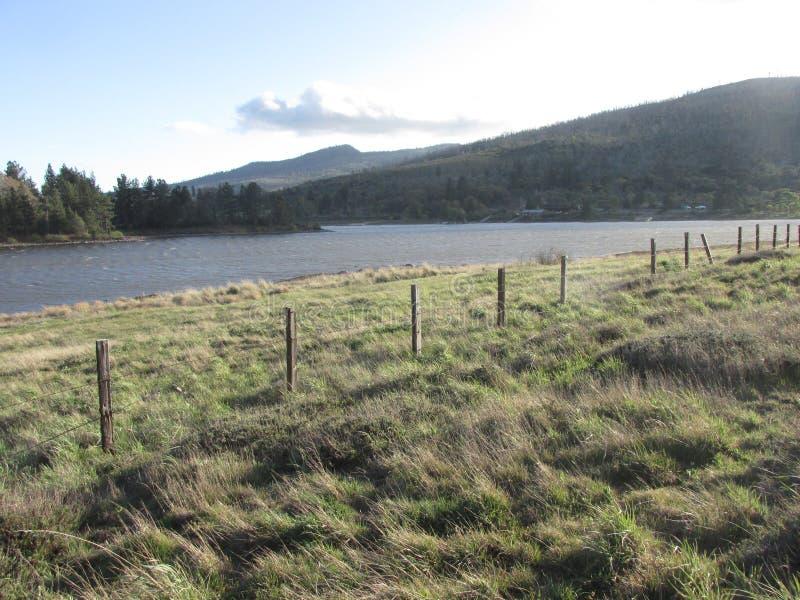 Lac Cuyamaca images libres de droits