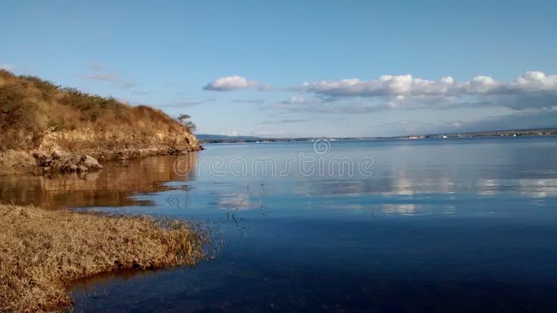 Lac dans des rdobas Argentine de ³ de cà photos libres de droits
