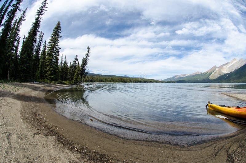 Lac dans le Canada photos stock