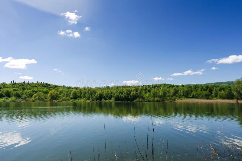 Lac dans Truskavets image stock