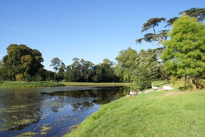 Lac dans Worcestershire, Angleterre photographie stock libre de droits