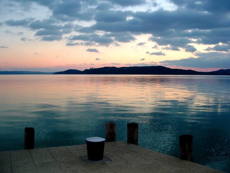 lac de balaton photos stock