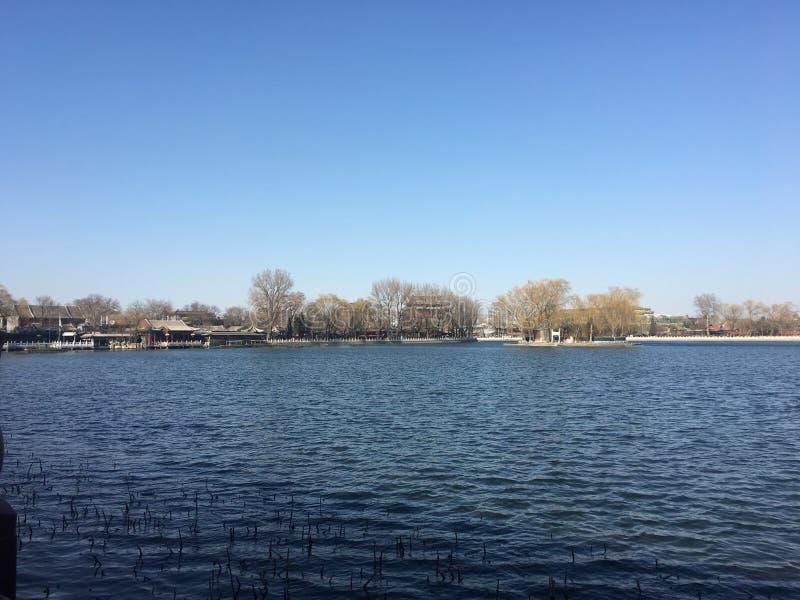 lac de Beihai images libres de droits