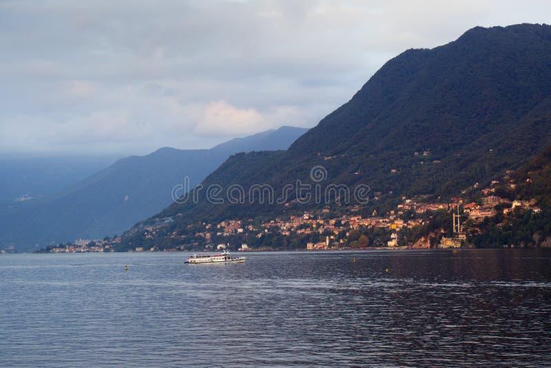 Lac de Côme, Italie photos libres de droits