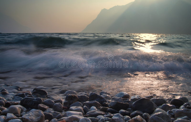 lac de garda photos stock