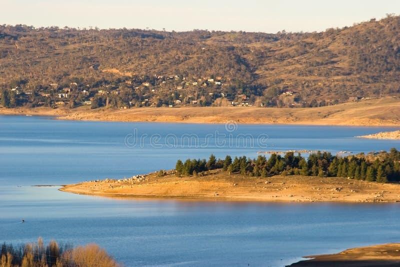 lac de jindabyne image libre de droits