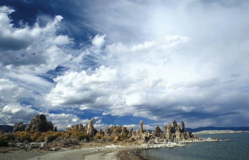 lac de la Californie mono images libres de droits