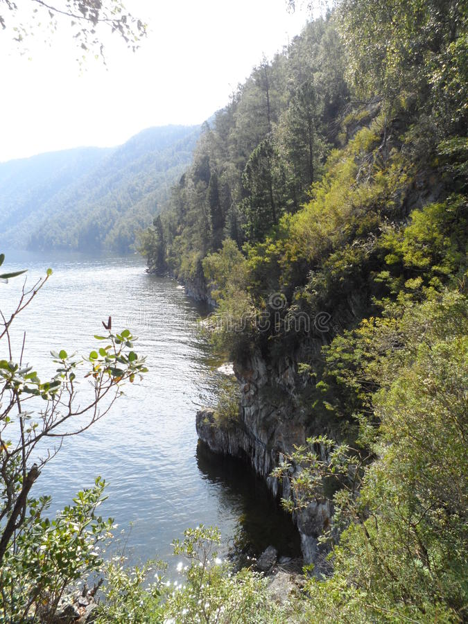 Lac de montagne de photo photos stock