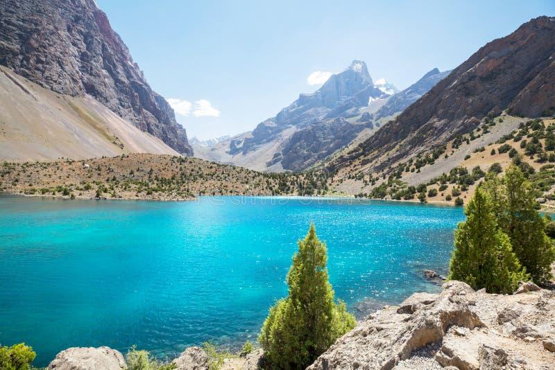 Lac de montagnes de Fann photos libres de droits