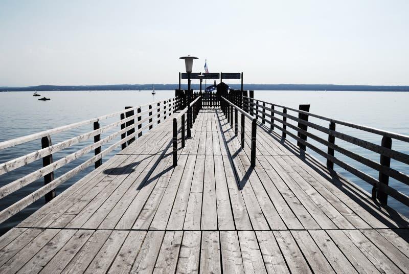 lac de passerelle image stock