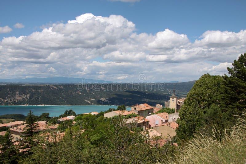 Download Lac de Sainte-Croix stock image. Image of europe, verdon - 16309247