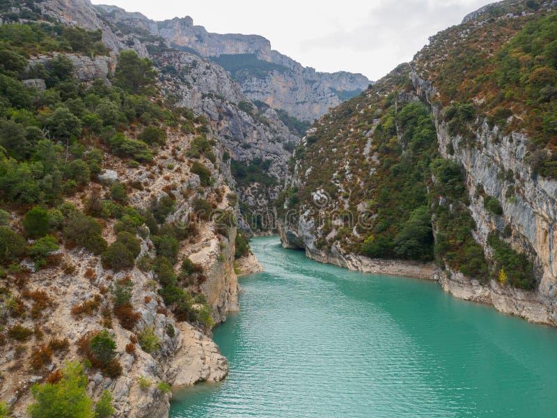 Lac de Sainte-Croix, Verdon, Francia fotos de archivo libres de regalías