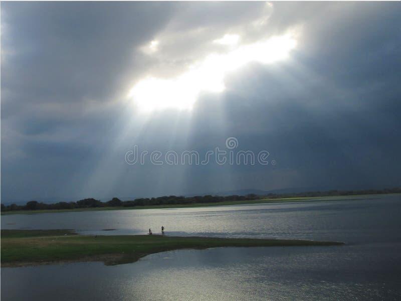 Lac de samudra de Prakrama photo stock