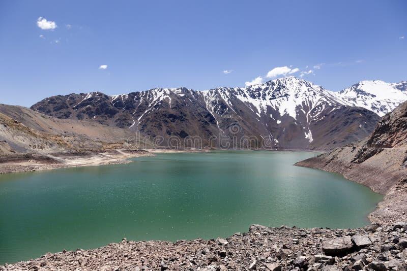Lac de Yeso photographie stock libre de droits