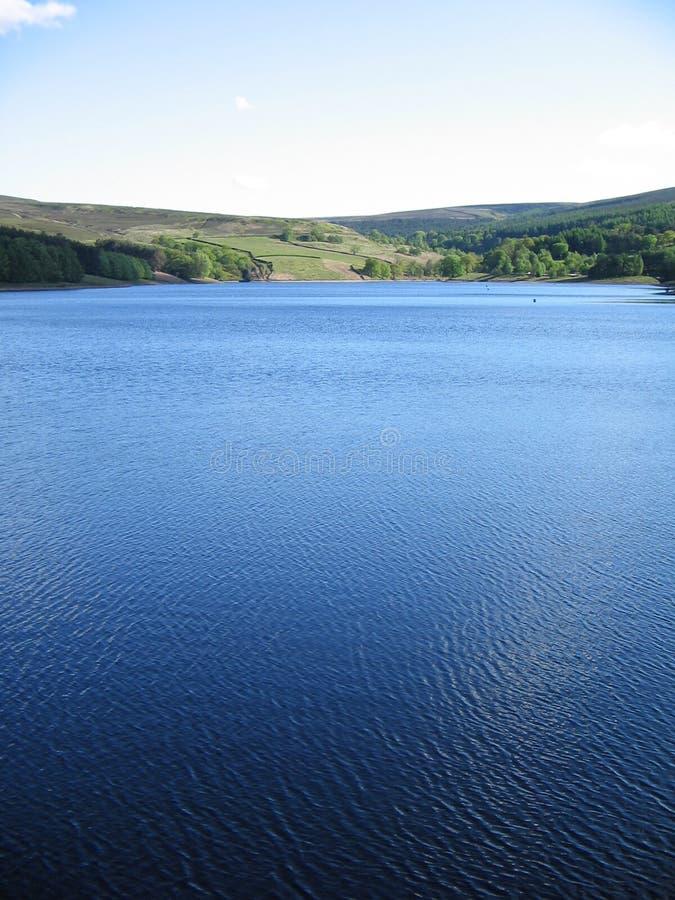 Lac derbyshire photo libre de droits