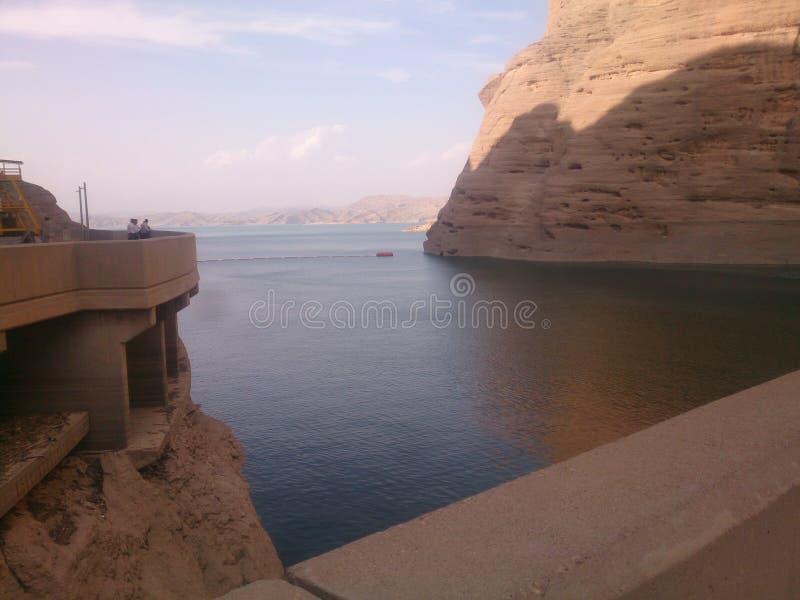 Lac derrière Dez Bam photographie stock libre de droits