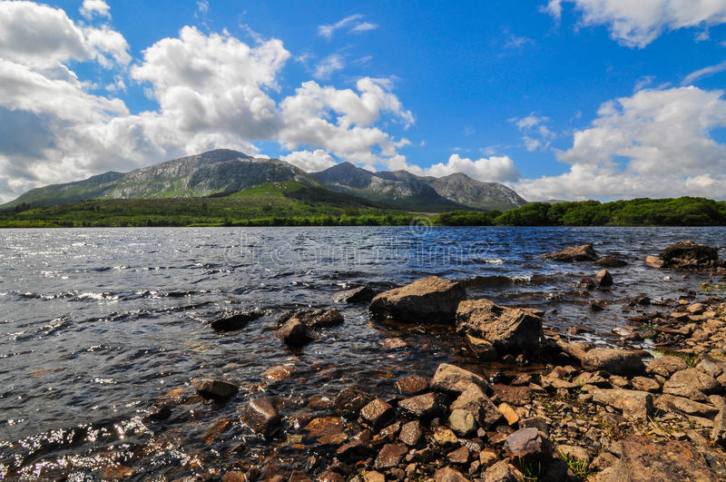 Lac Derryclare image stock