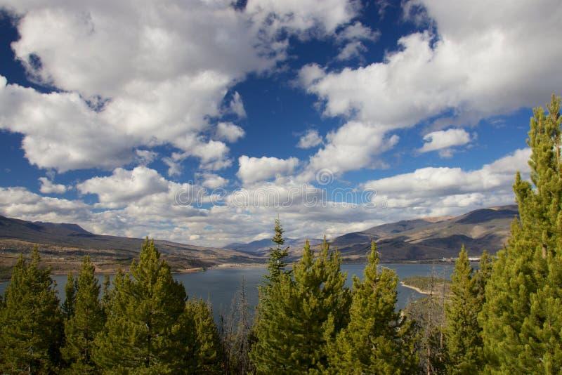 Lac Dillon photo libre de droits