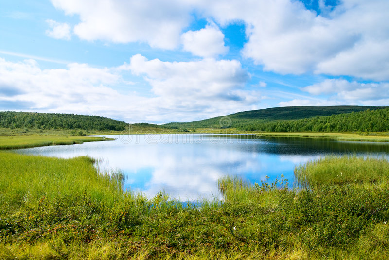 lac du nord photo stock