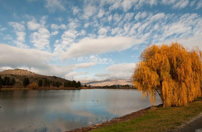 Lac Dunstan photo libre de droits