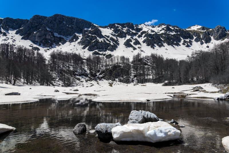 Lac en Grèce photo stock