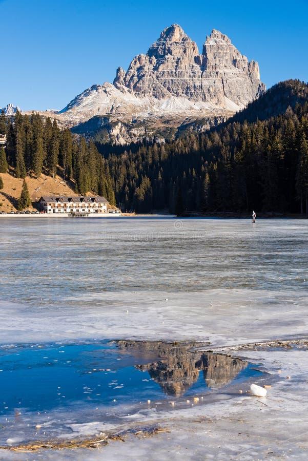 Lac en Italie image libre de droits