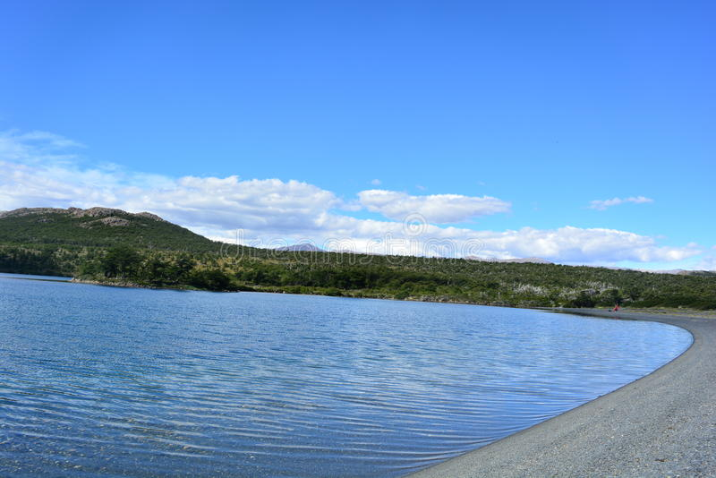 Download Lac En Parc National De Visibilité Directe Glaciares, EL Chaltén, Argentine Photo stock - Image du regarder, traînée: 87704332