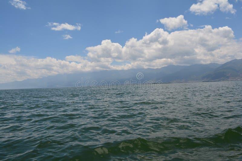 Lac Erhai images stock