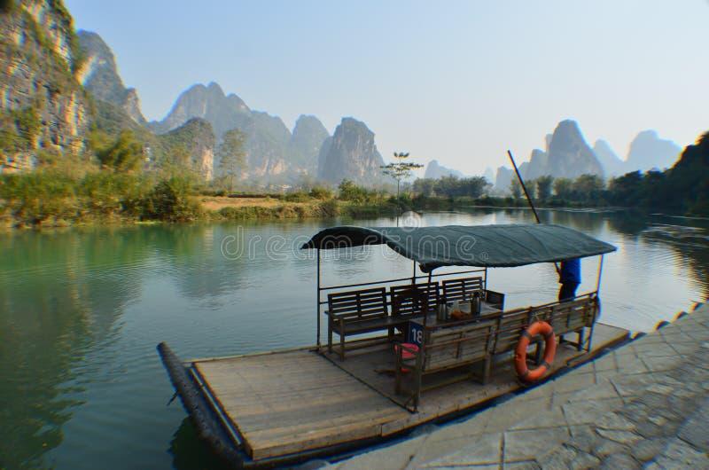 Lac et rivière photo libre de droits