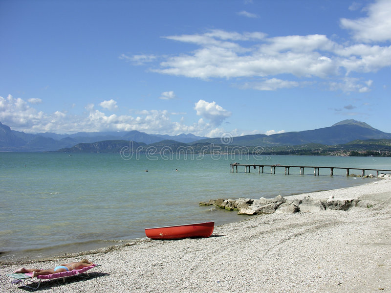 Lac Garda photo libre de droits