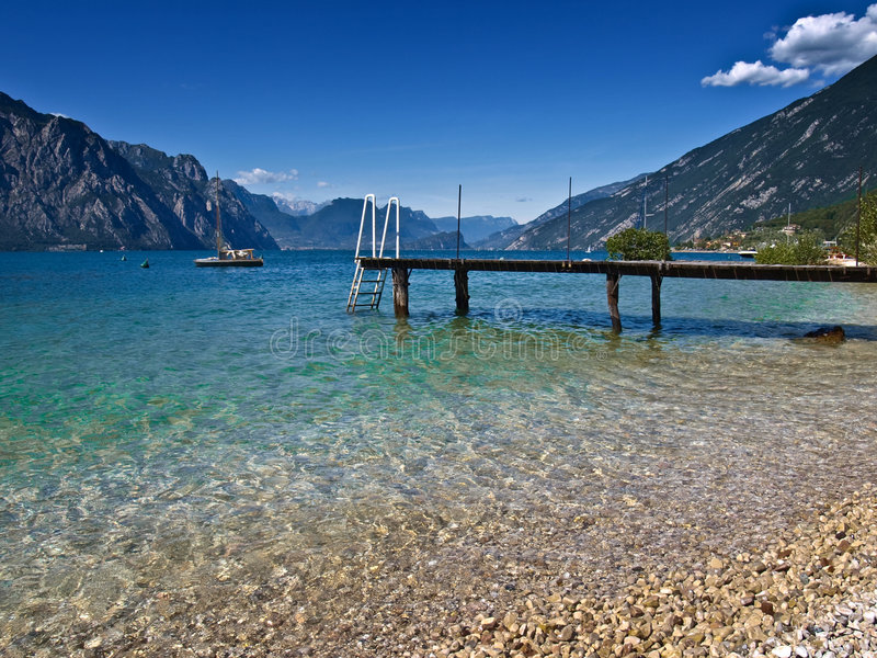 Lac Garda - photographie stock