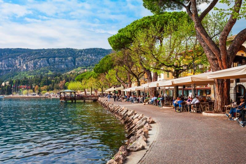Lac Garda Waterfront en Italie photo libre de droits
