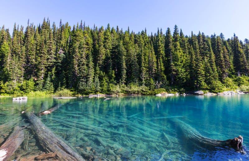 Download Lac Garibaldi photo stock. Image du northwest, randonneur - 76076390