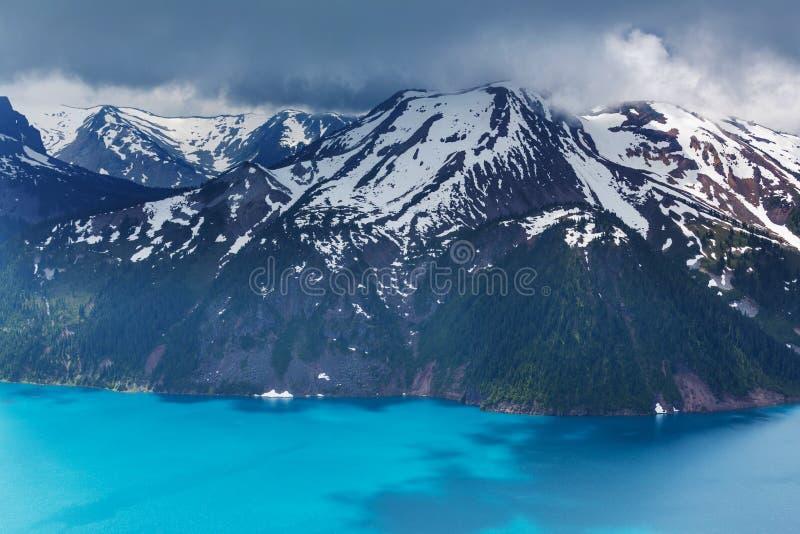 Download Lac Garibaldi photo stock. Image du pacifique, alpestre - 76076438