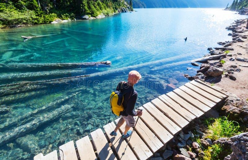 Download Lac Garibaldi image stock. Image du impressionnant, montagne - 76076439