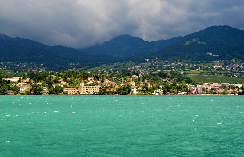 Lac Genève photos libres de droits