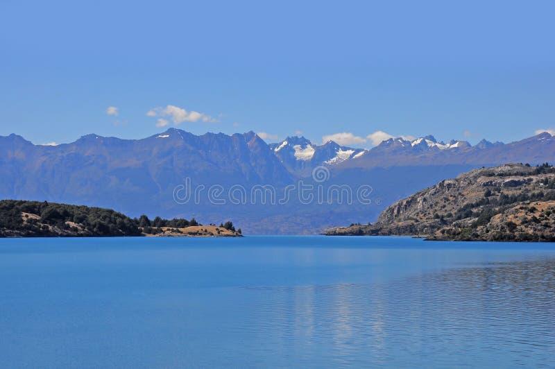 Lac general Carrera. photos stock