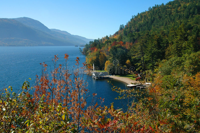 Lac George image stock