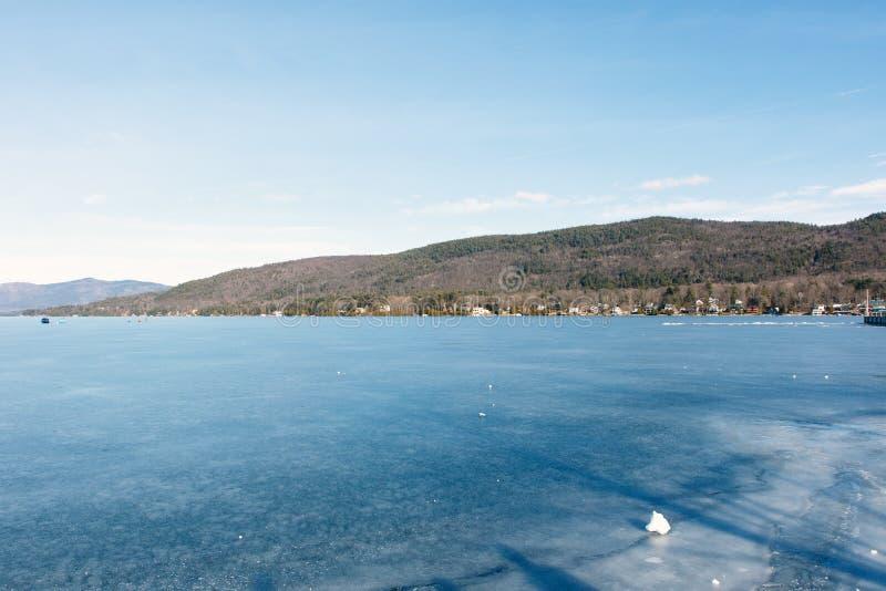 Lac George Winter photos stock