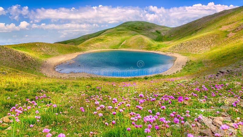 Lac Gistova photographie stock
